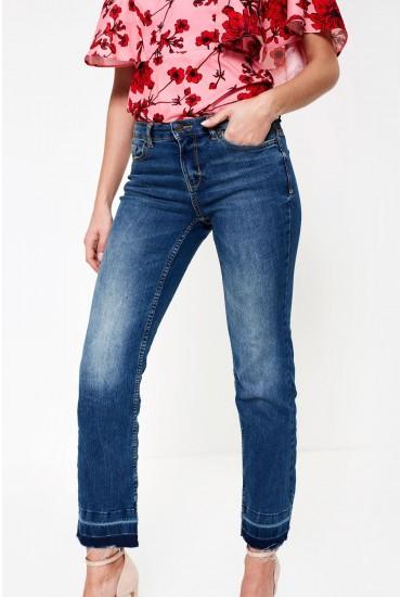 Magic Straight Leg Denim Jeans
