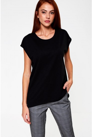 Mathilde Long T-Shirt in Black