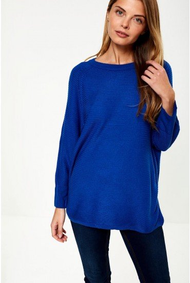 Mathison Pullover Knit in Blue