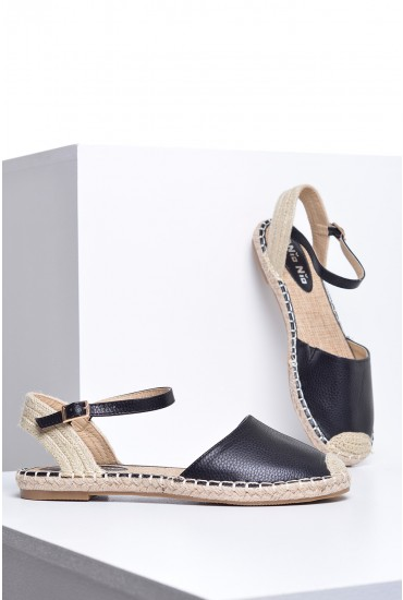 Lana Espadrille in Black