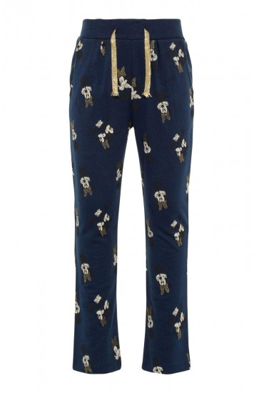 Minnie Girls Sweat Pant in Navy