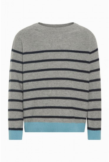 Modim Boys Strip Knit Top