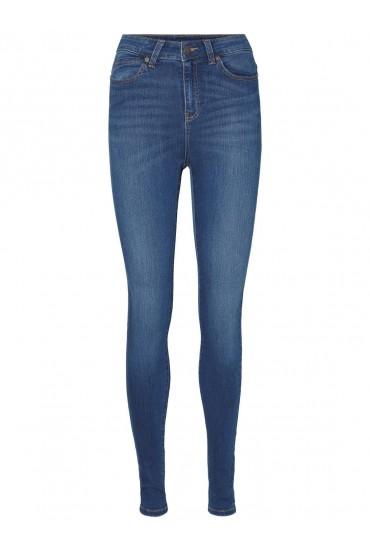 Lexi High Rise Denim Jeans in Dark Denim