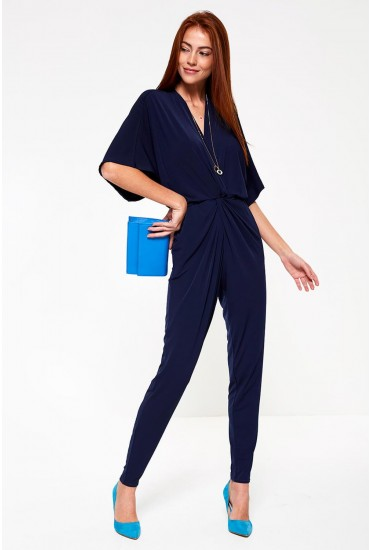 Aurora Occasion Jumpsuit in Navy