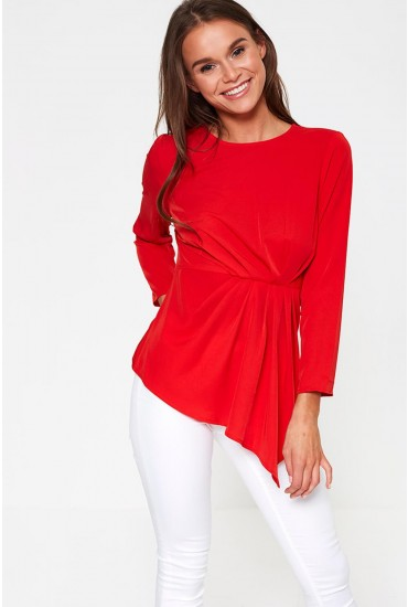 Hinta Occasion Top in Red