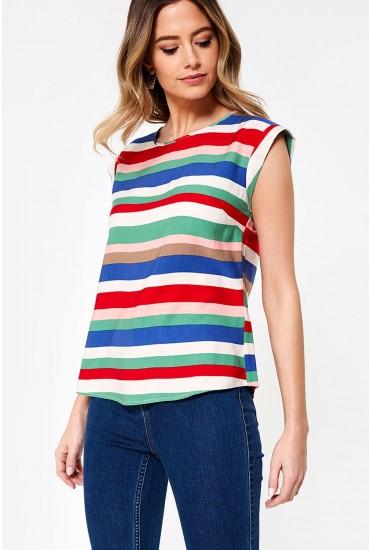 Olivia Top in Stripe