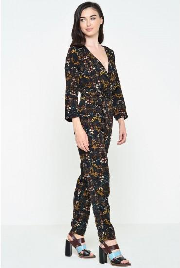Cecelia Printed Jumpsuit