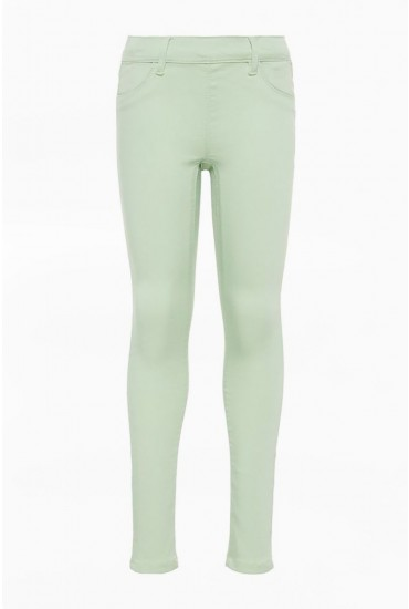 Polly Girls Jeggings in Mint
