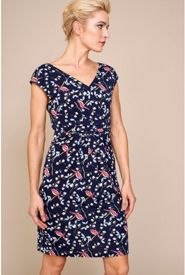 Poppy Casual Dress in Ditsy Floral