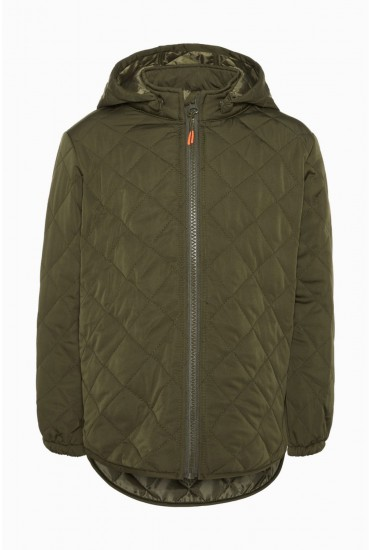 Quilt Boys Jacket in Khaki