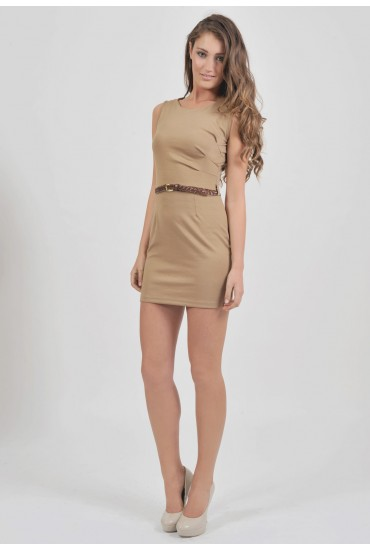Emily Belted Shift Dress