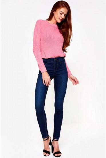 Seven Regular Shape up Jeans in Dark Blue