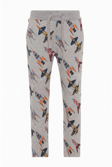 Robot Boys Sweat Pants in Grey
