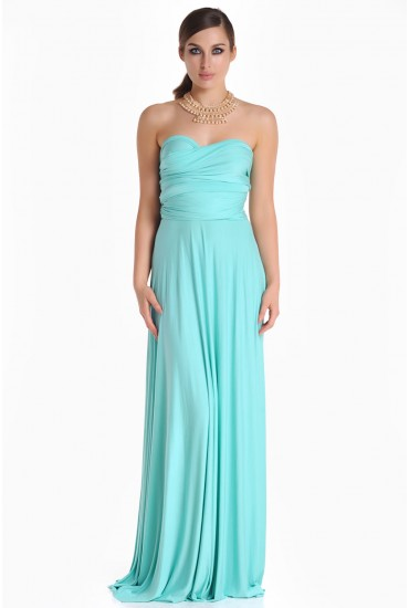 Blair Multi Way Maxi Dress in Mint