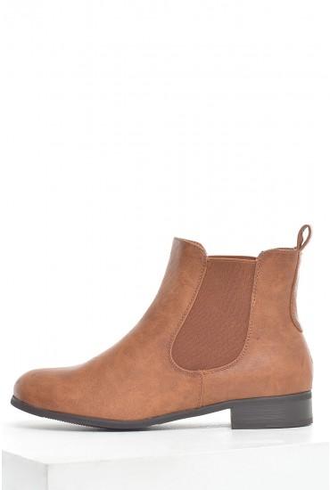 Winnie Chelsea Boots in Tan