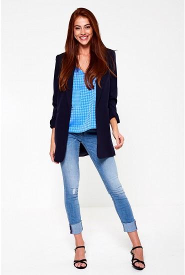 Carmen Regular Ankle Jeans in Light Blue