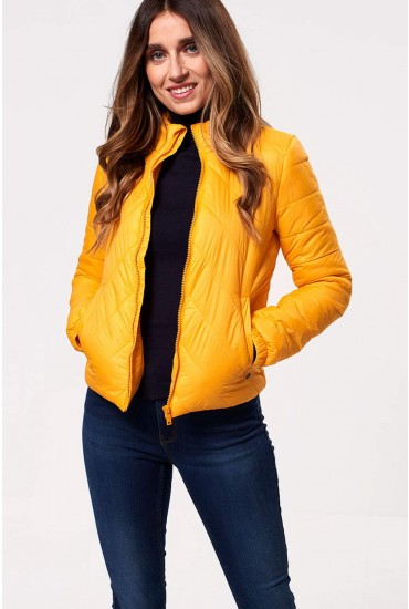 Selma Padded Jacket in Yellow