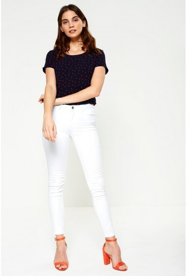 Seven Regular Shape Up Jeans in White