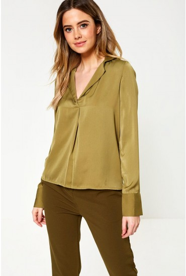 Maila Shirt in Olive