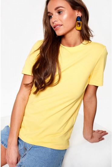 Classic Short Sleeve T-Shirt in Yellow