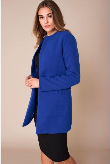 Seth Classic Slim Coat in Blue