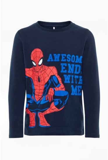 Spiderman Boys Top