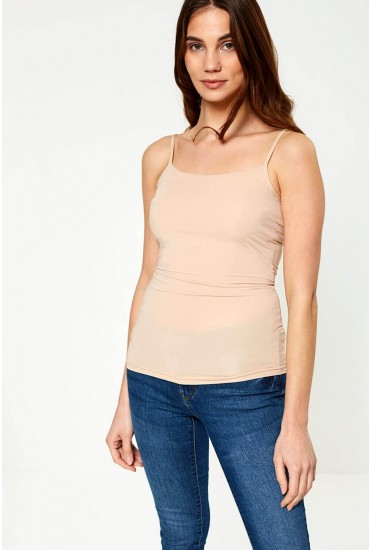 Surface Cami Top in Natural