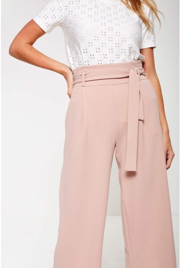 Tailor Culottes in Blush