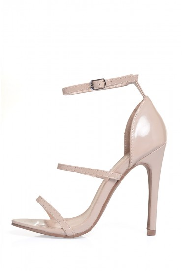 Lupita Strappy Sandals in Nude