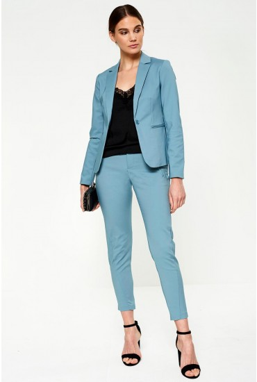 Victoria Regular Ankle Pants in Duck Egg Blue