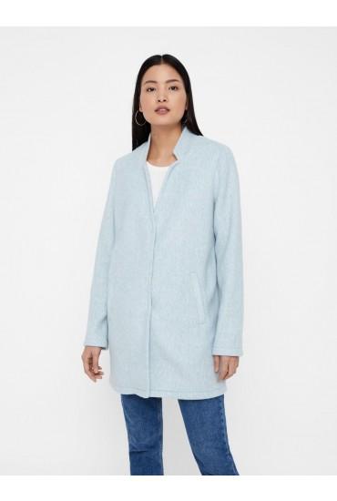 Katrine Long Sleeve Jacket in Light Blue