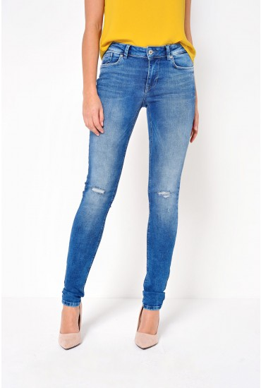 Carmen Regular Jeans in Medium Blue