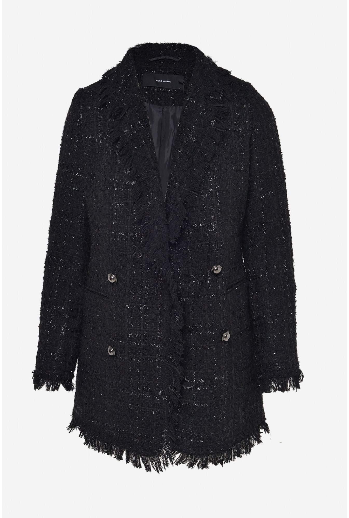 Waren des täglichen Bedarfs online große Vielfalt Modelle Sparkle Boucle Blazer in Black