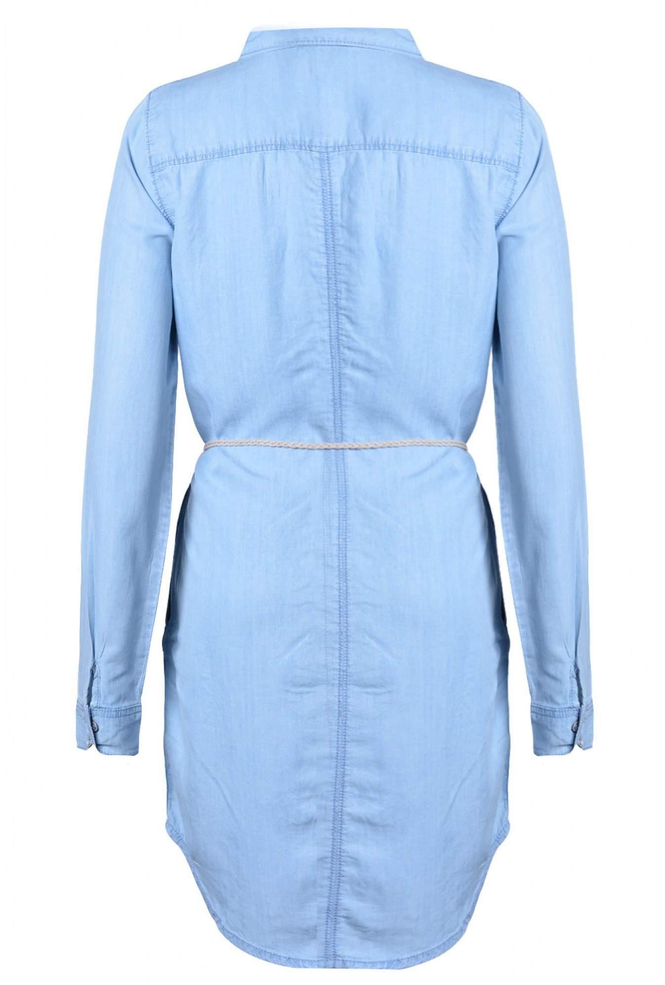22c22e70b0d More Views. Henna Denim Dress in Light Blue. Only