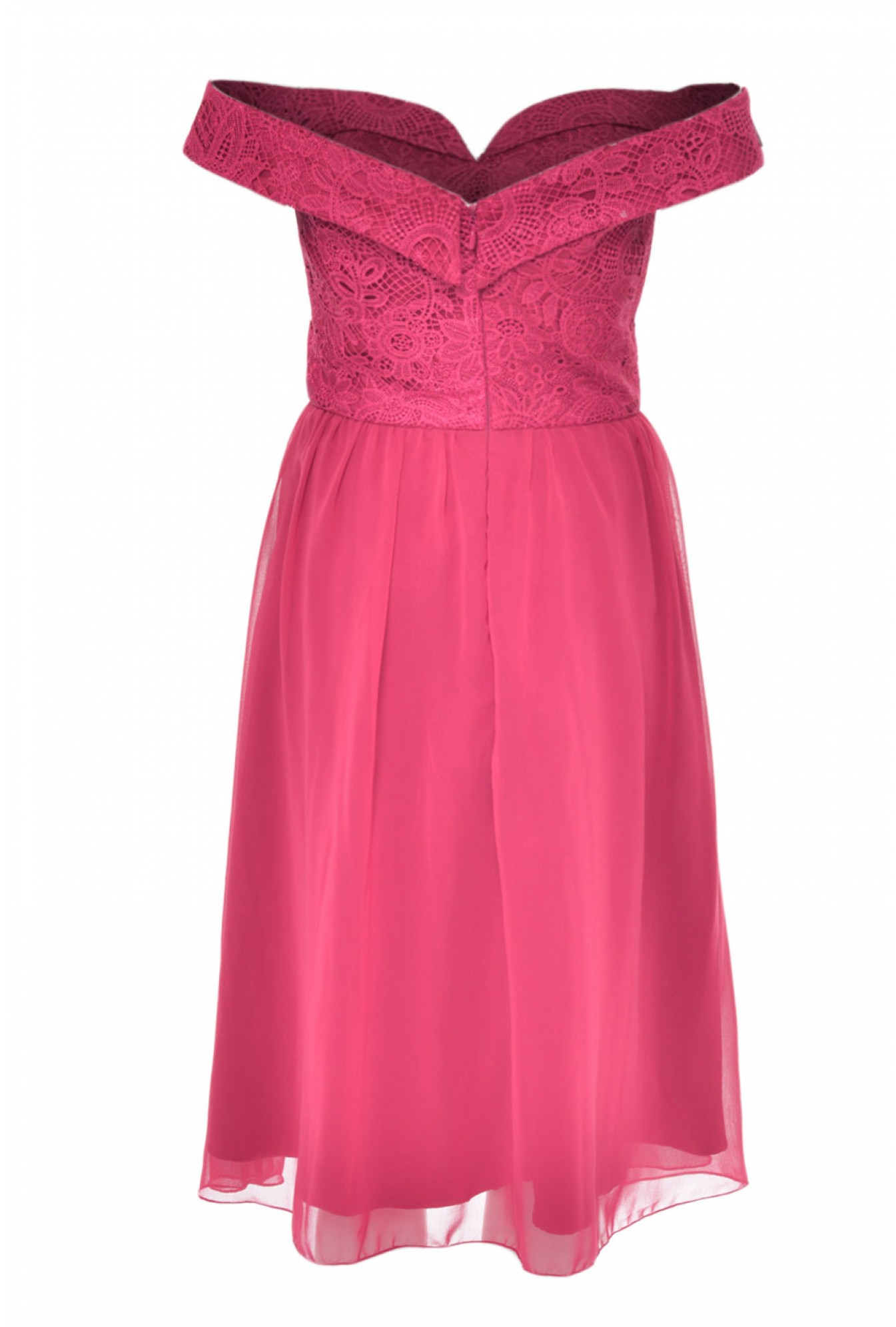 a861f984e4b4 More Views. Mary-Kate Bardot Dress in Raspberry