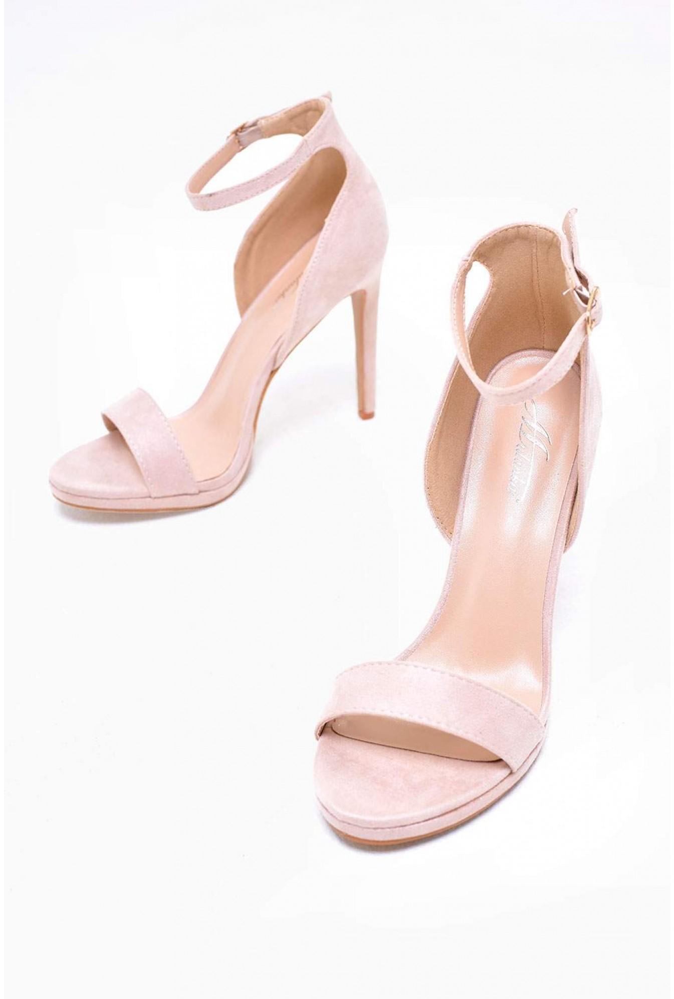 75034ff2ee1 No Doubt Nelly Ankle Strap Platform Sandals in Beige