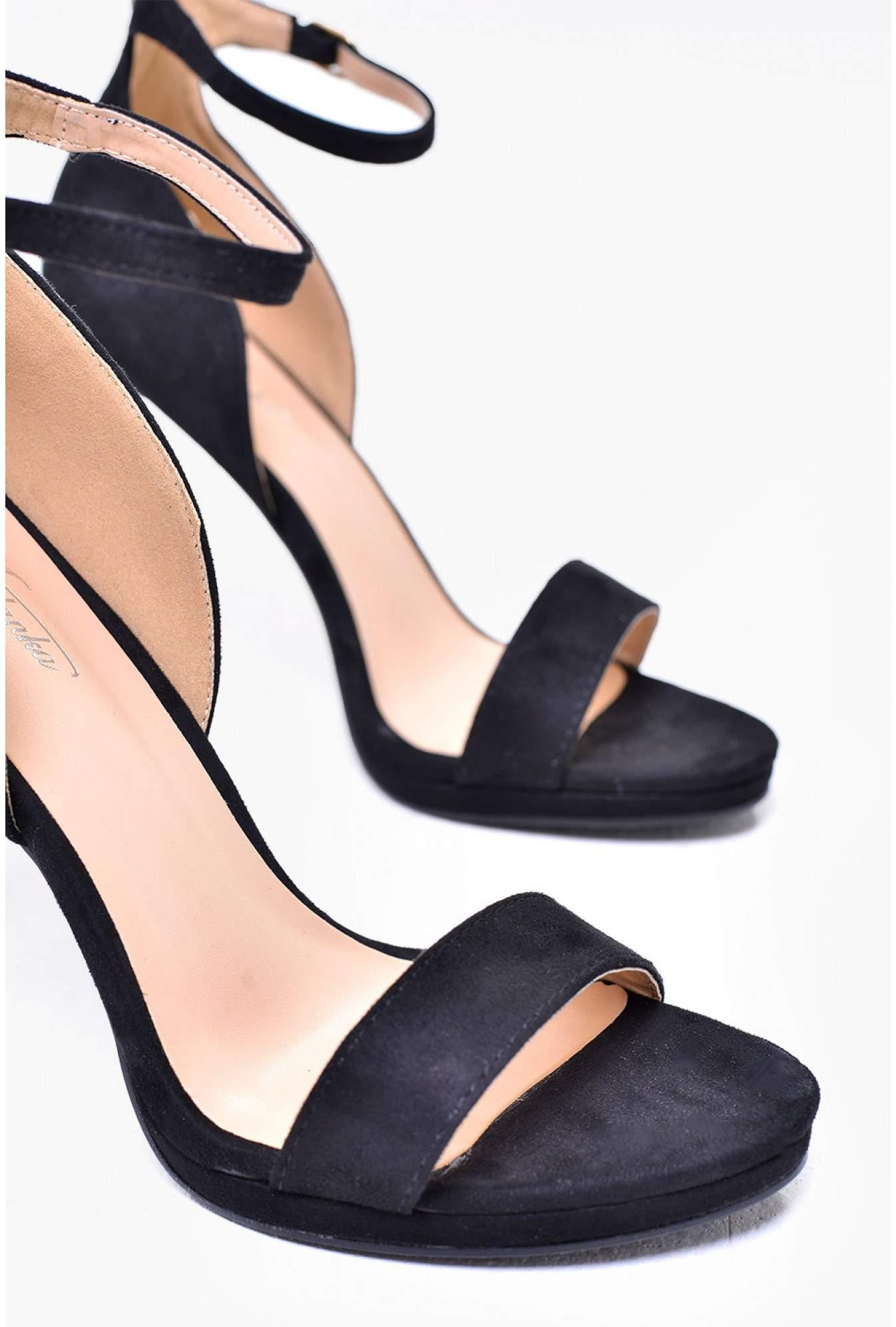 1864d9635af More Views. Nelly Ankle Strap Platform Sandals in Black