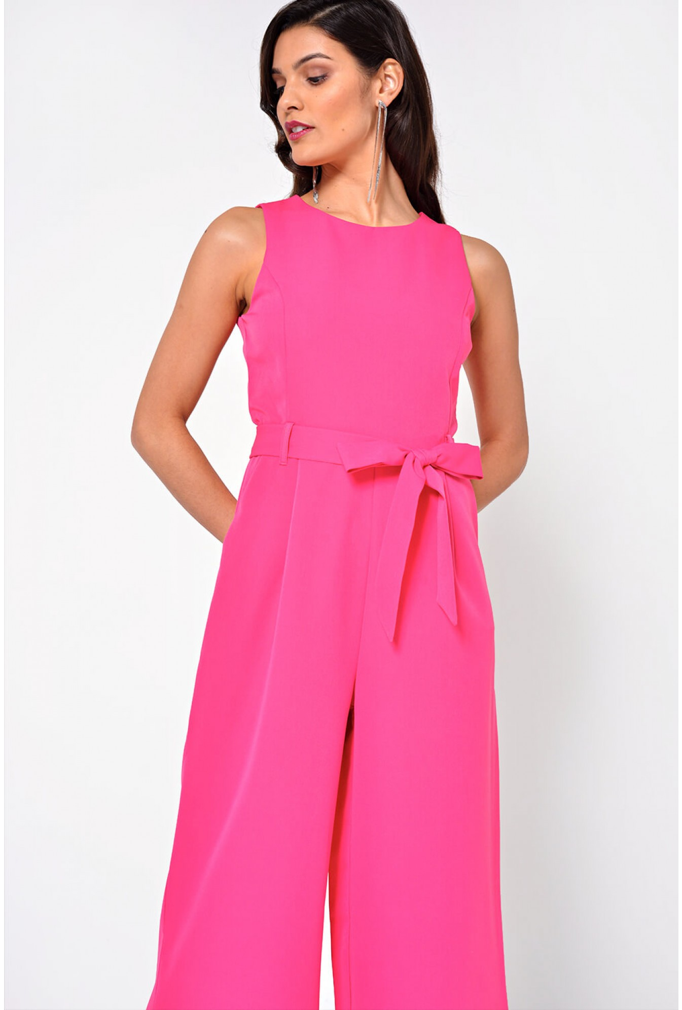 99051bb7c8c2 More Views. Layla Longline Culotte Jumpsuit in Pink. Marc Angelo