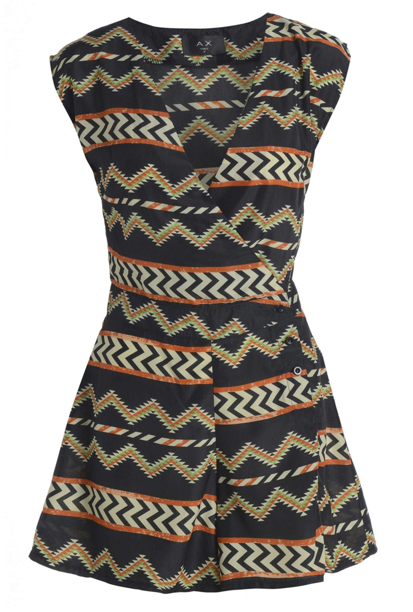 499282e1687 More Views. Brenda Zig Zag Wrap V Front Playsuit
