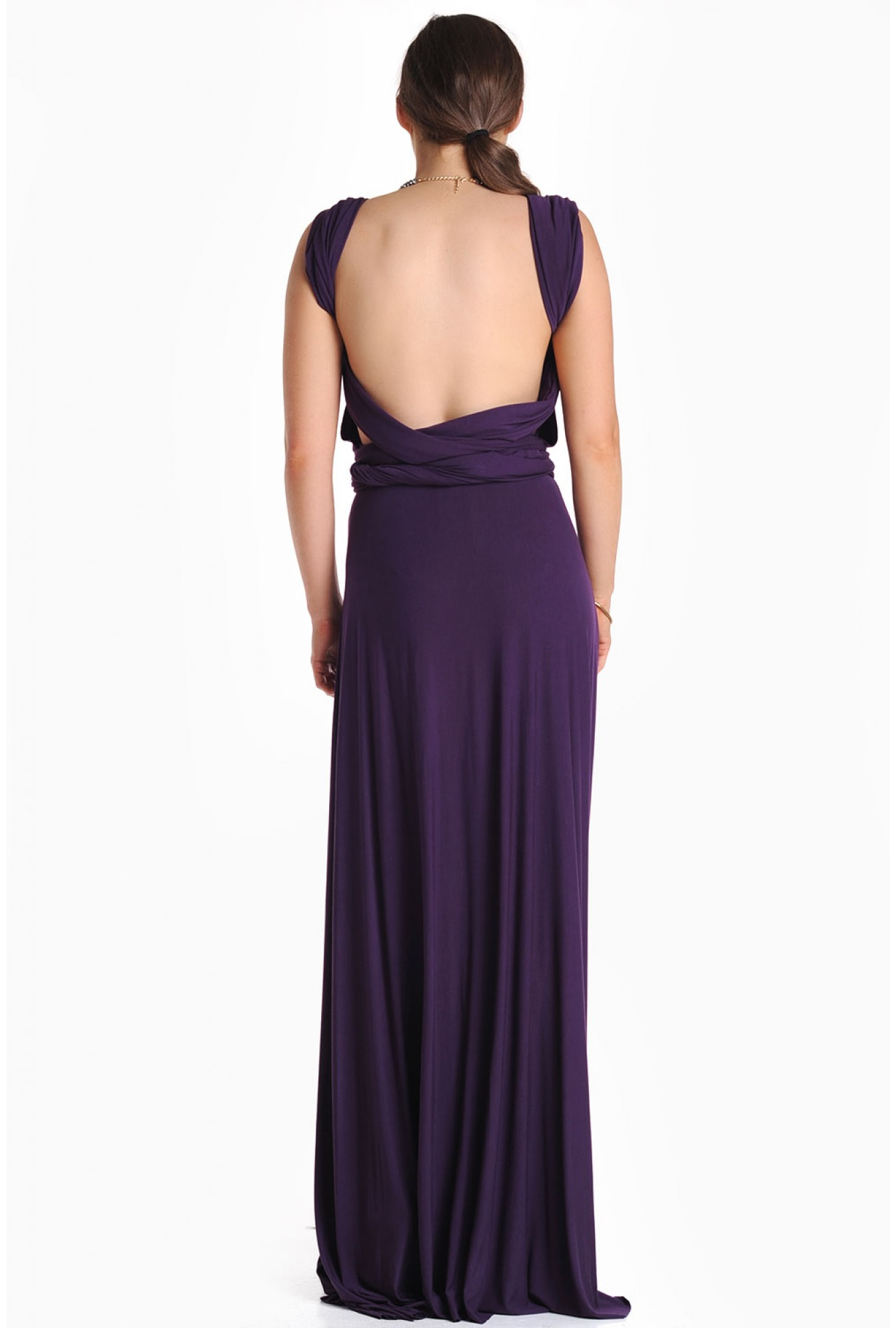 iCLOTHING Blair Multi Way Maxi Dress in Purple  12266853c29f