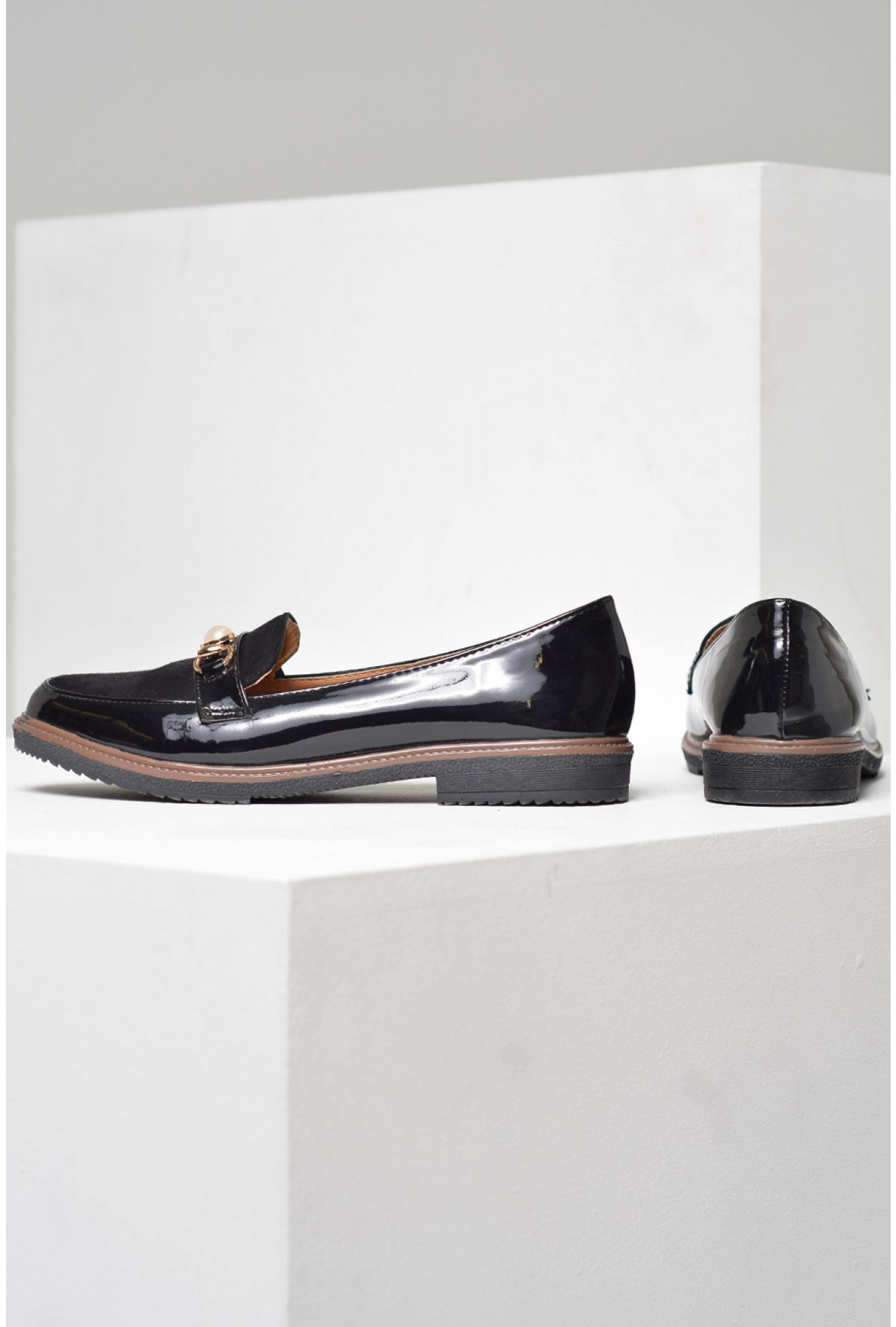 7898a404081 More Views. Elvie Pearl Loafers ...